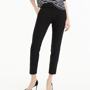 JCrew black Cameron pants size 6